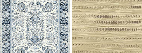 multi color rug for living room